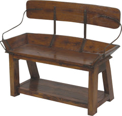 Buckboard Bench - Open Back 41""
