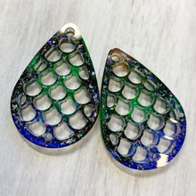 Load image into Gallery viewer, Dragon Scale Earring or Pendant Pairs - your choice