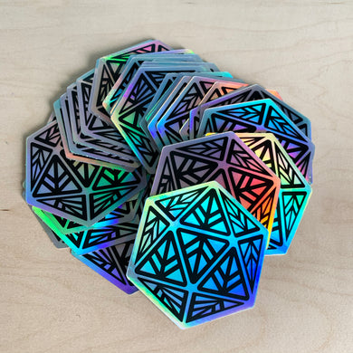 HOLO Iconic Logo Die-Cut Sticker