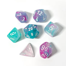 Load image into Gallery viewer, PREORDER Nebula Wisteria - Chessex Lab 7-piece set
