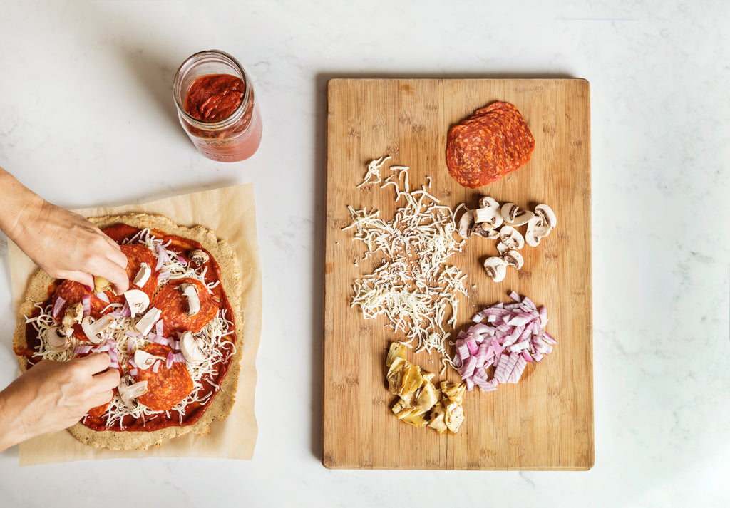 Cauliflower Pizza Crust Mix