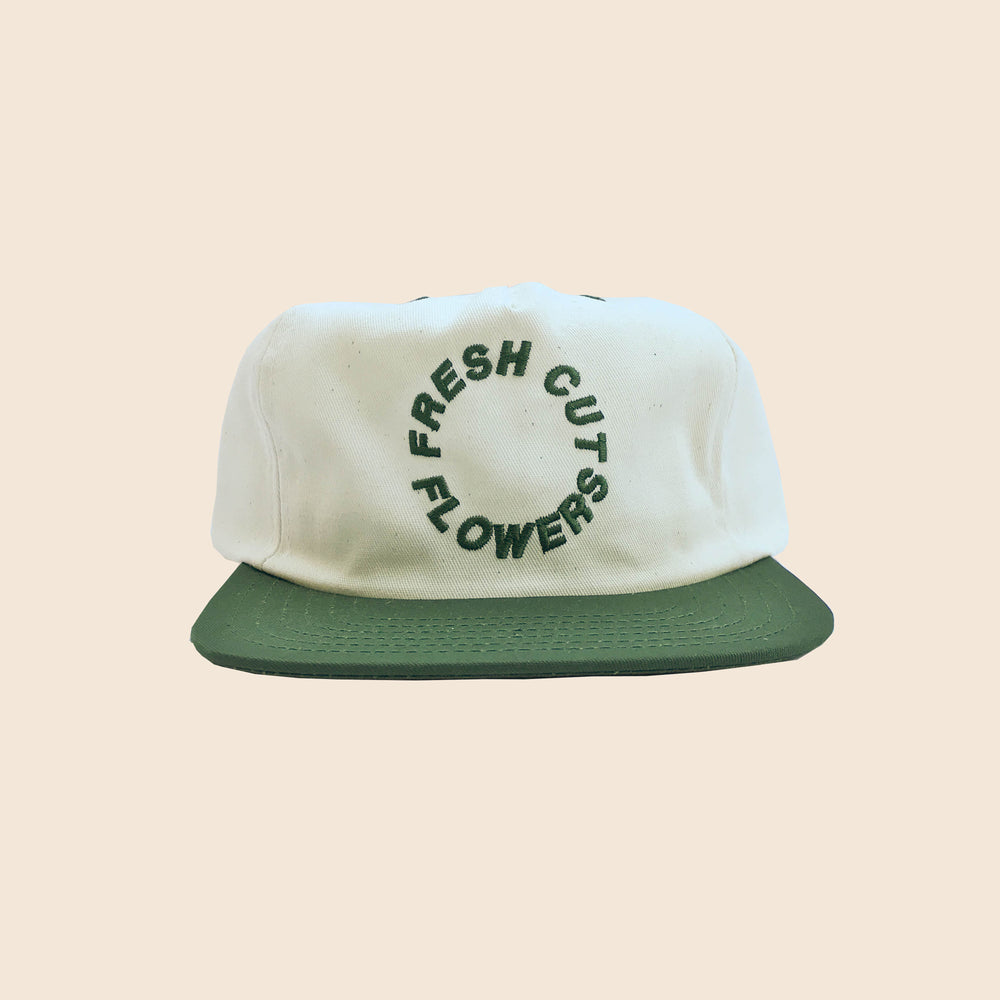 Load image into Gallery viewer, Circle Logo Snapback - Natural/Spruce