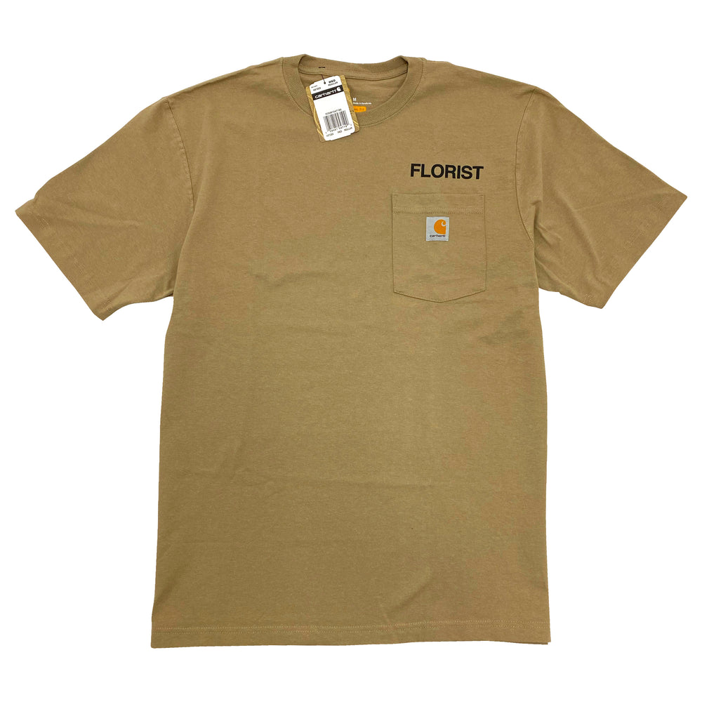 Florist Carhartt Pocket Tee - Tan