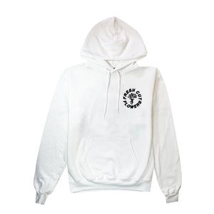 Give Flowers Champion® Hoodie - Pure White