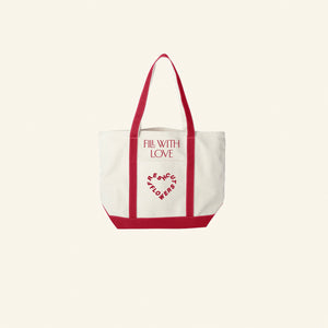 Fill With Love 2-Pocket Tote