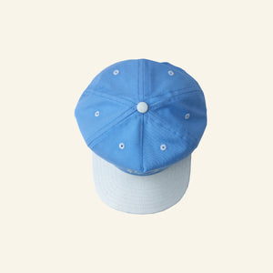 Circle Logo Snapback - Baby Blue / Natural