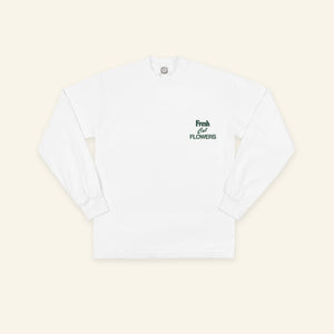 Mother Nature Long Sleeve - White