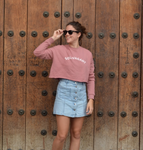 Solivagant Crop Sweatshirt