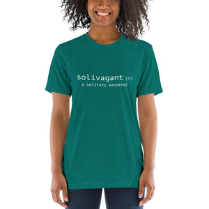 Solivagant Definition Triblend T-Shirt