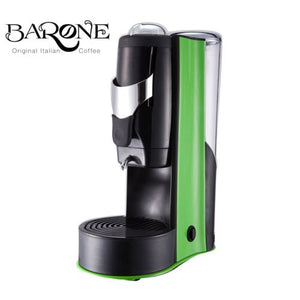 BARONE EZ Espresso Pod Machine, 110 Volt, 1-Year Warranty