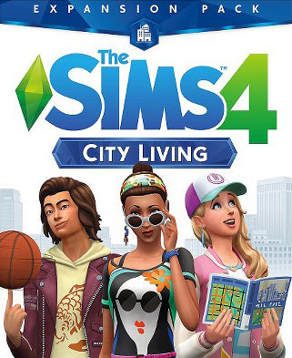 The Sims 4 City Living PC Download Video Game Windows Computer