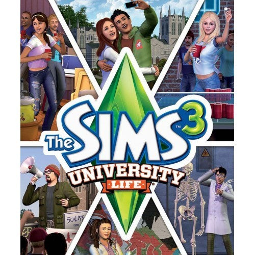 The Sims 3 University Life Expansion Pack - PC Download
