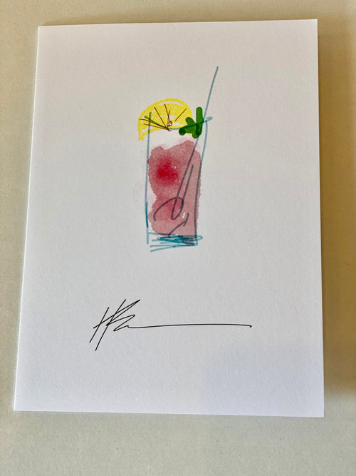 Note Cards - Drinks Collection