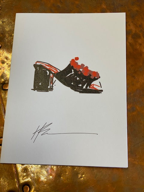 Note  Cards - Shoe Collection