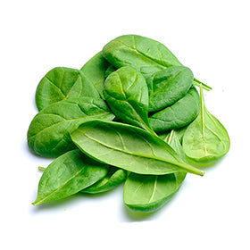 <p>Spinach is high in folic acid, iron, calcium, Vitamin A, Vitamin C and Vitamin K. It has been shown to increase eye health, decrease oxidative stress, help regulate blood pressure levels and aid in cancer prevention.</p>