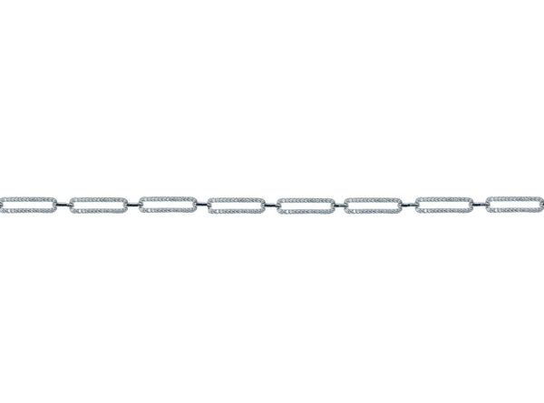 Oval Linked Slim Line Choker