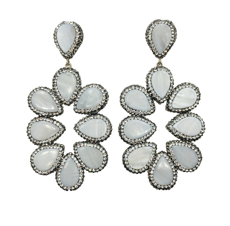 Turkish Mother of Pearl Earrings