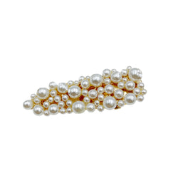 Mini Pearl Cluster Triangle Hair Clip