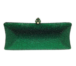 Emerald Prism Crystal Clutch