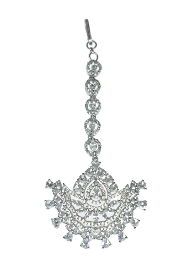 Diamondesque Fan Tikka Headpiece