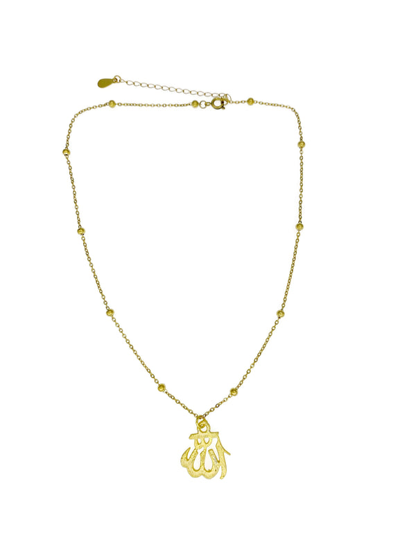 Dainty Allah Necklace