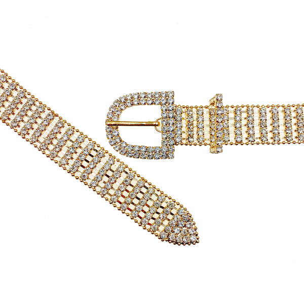 Gold Crystal Belt