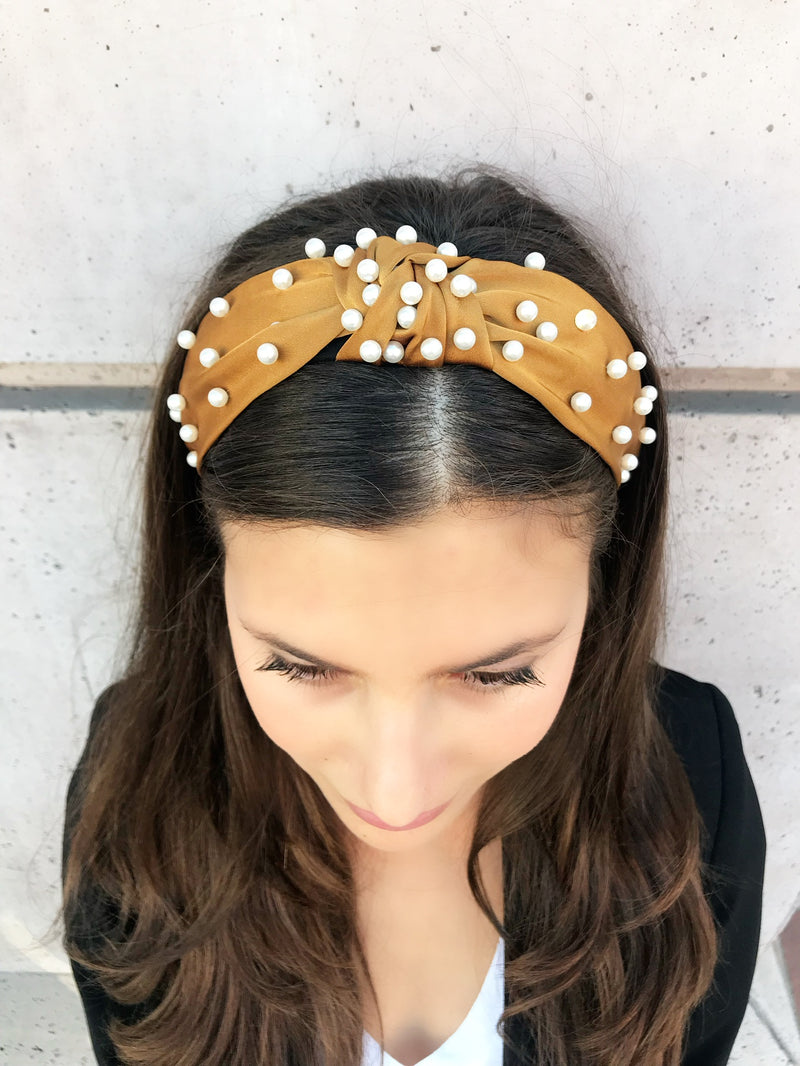 product-gold-pearl-satin-headband-kamal-beverly-hills
