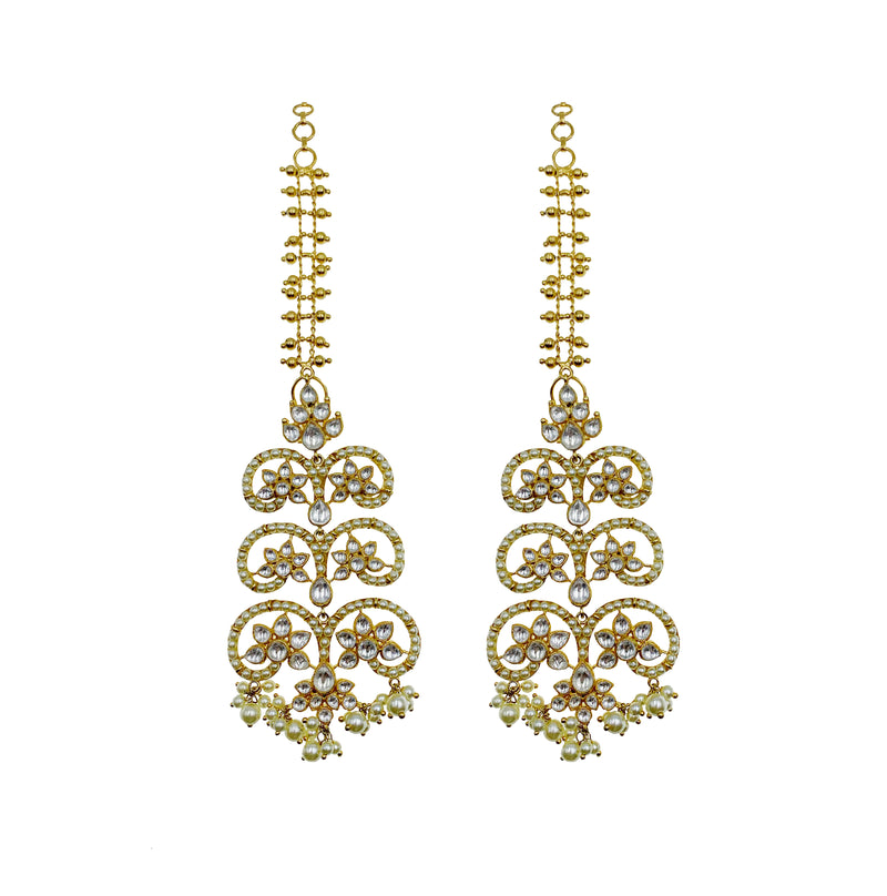 Kundan Vines Sahara Earrings
