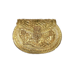 Product-Antique-Gold-Etched-Oval-Bag-Kamal-Beverly-Hills