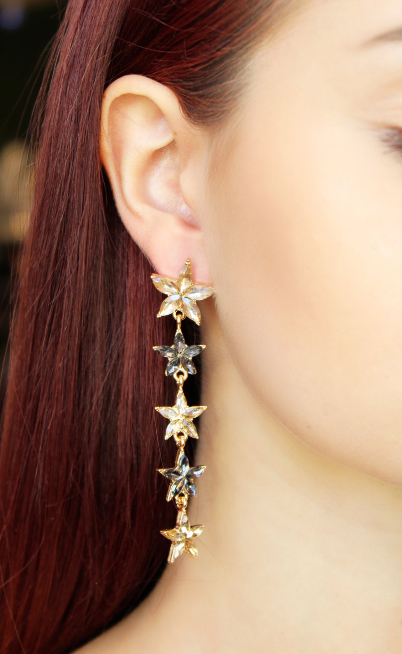 Stars Drop Earrings
