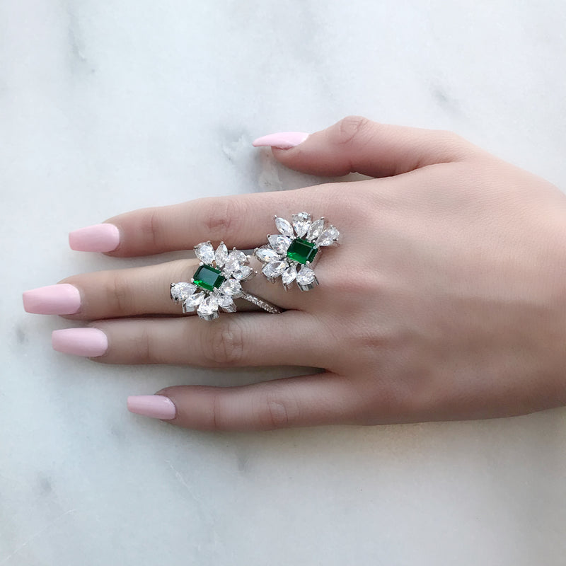 Flower Wrap Ring