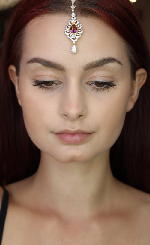 Petite Changeable Stone Tikka Headpiece