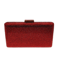 Red Crystal Clutch