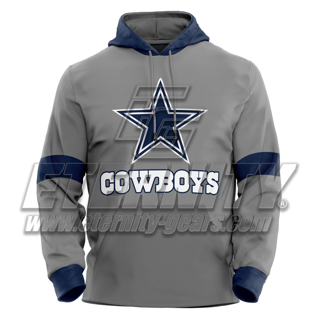 520717fac DALLAS COWBOYS NFL SPORTS PULLOVER HOODIE – Eternity Gears