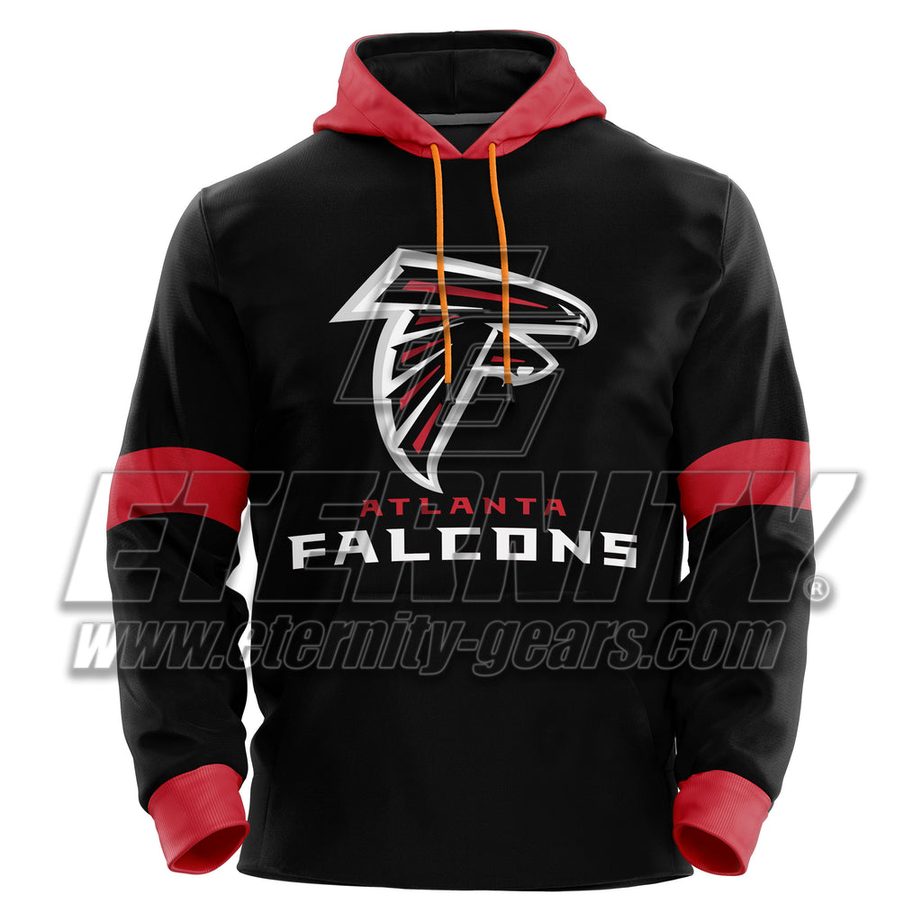 competitive price afee6 32c2a ATLANTA FALCON NFL SPORTS PULLOVER HOODIE