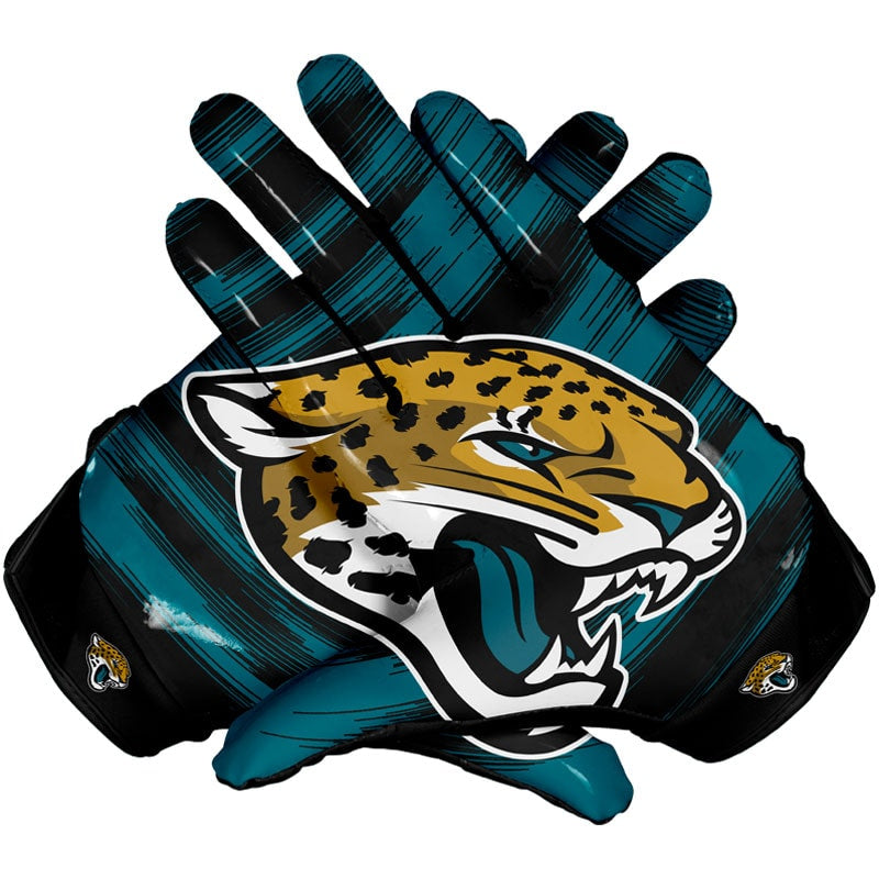 jacksonville jaguars football gloves