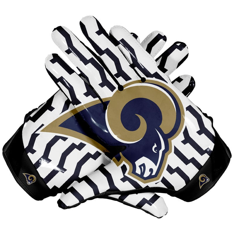 Los Angeles Rams Football Gloves