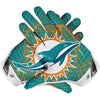 Miami Dolphins Football Gloves