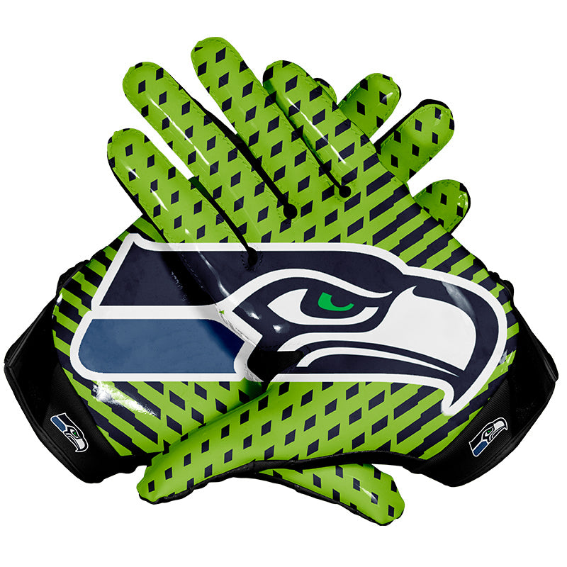Seattle Seahawks Football Gloves