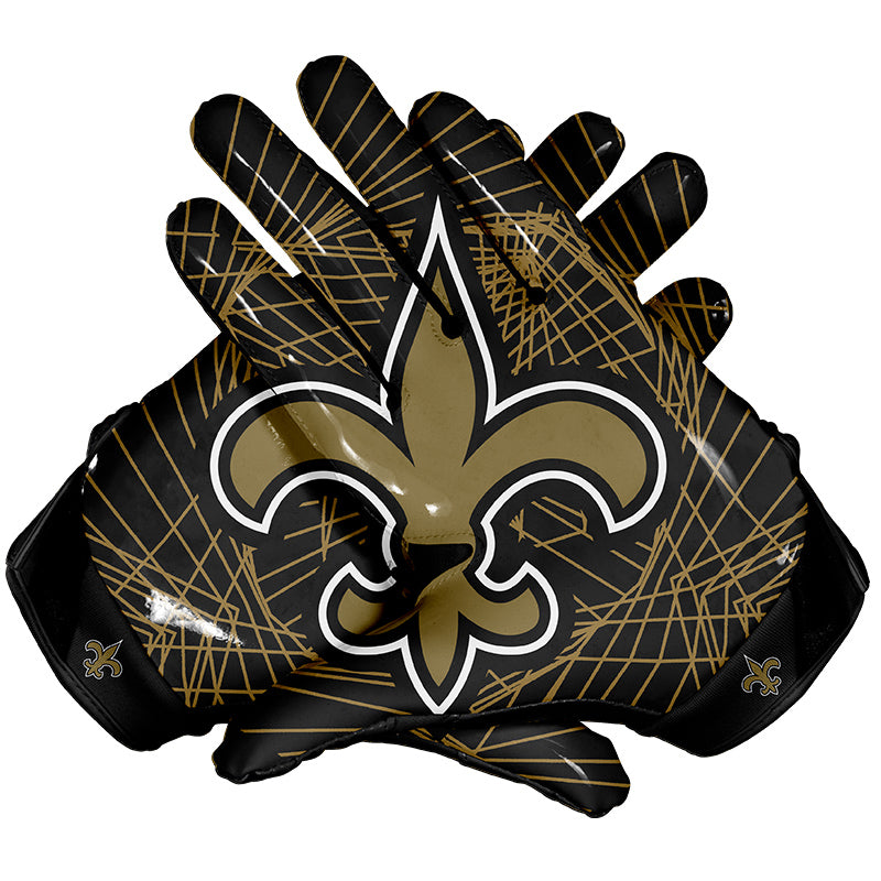 New Orleans Saints Football Gloves