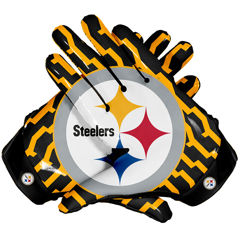 Pittsburgh Steelers Football Gloves Eternity Gears
