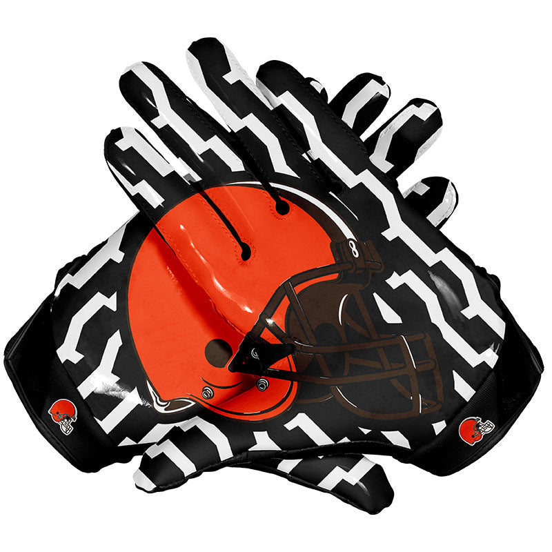 cleveland browns football gloves