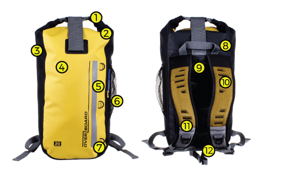 Waterproof Classic Backpack Tech Specs