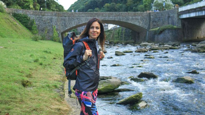 Julia Bradbury - Hiking Tips in the Rain