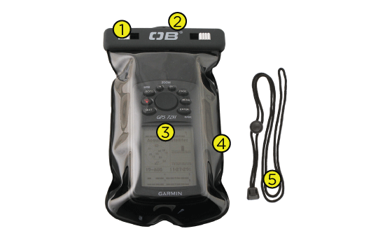Waterproof GPS Case Tech Specs