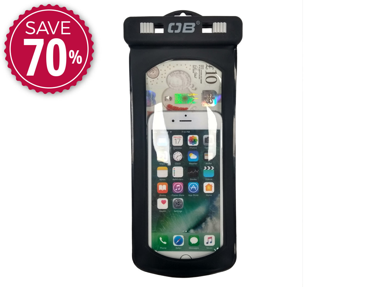 Waterproof Flip Phone Case - Small | OB1065BLK