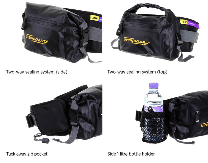 OverBoard Pro-Light Waterproof Waist Pack - 4 Litres