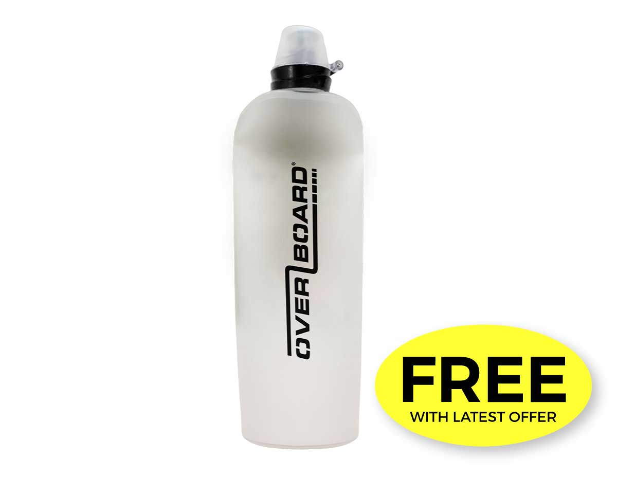 Reusable Soft Water Bottle - 450 ML | OB1212BLK