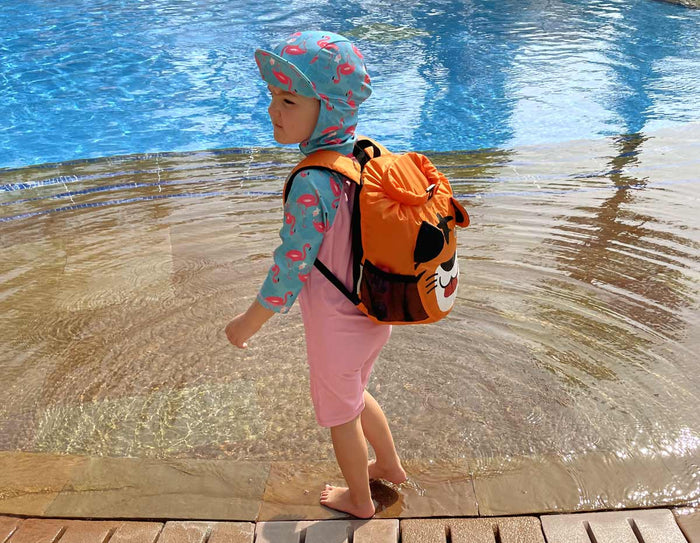 OverBoard Kids Tiger Waterproof Backpack - 11 Litres