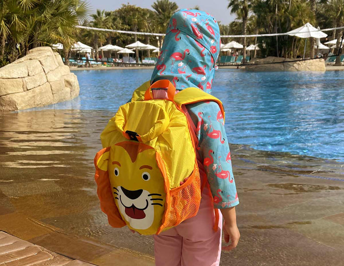 OverBoard Kids Lion Waterproof Backpack - 11 Litres